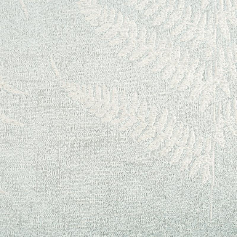 Ткань 1 п/м «Папоротник», жаккард, 300 см, цвет серый, зелёный