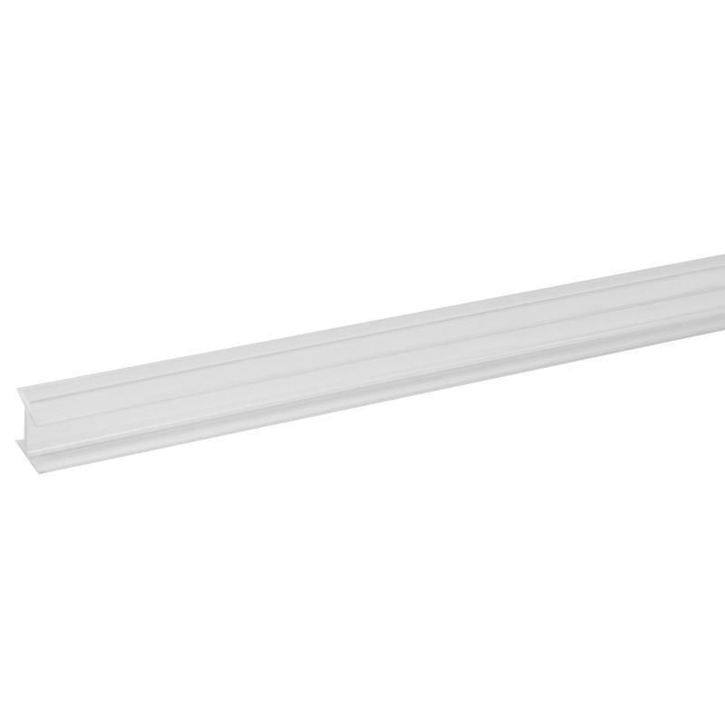 Профиль соединительный Н-образный для стеновой панели, 60х0.6 см, пластик