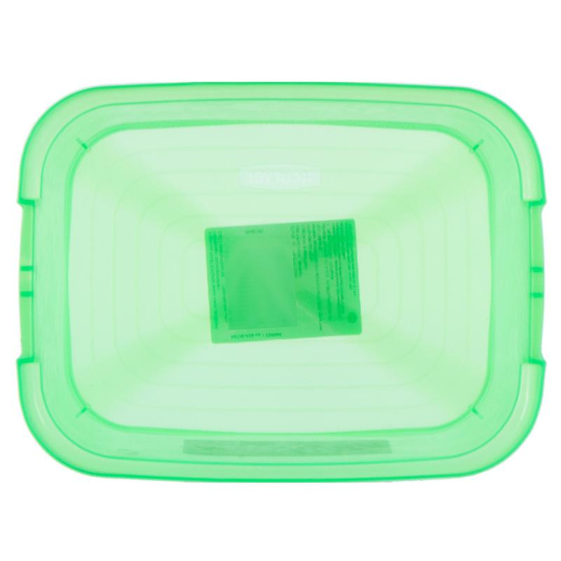 Корзина Curver Amsterdam мини неон пластик цвет зеленый