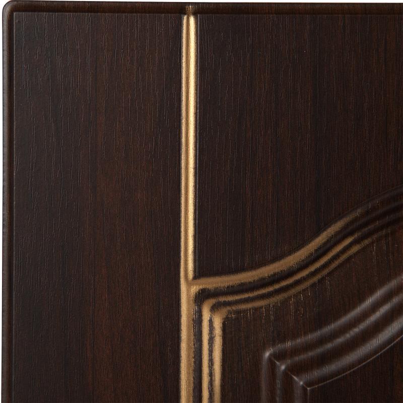Дверь для кухонного шкафа «Византия», 33х70 см, цвет тёмно-коричневый