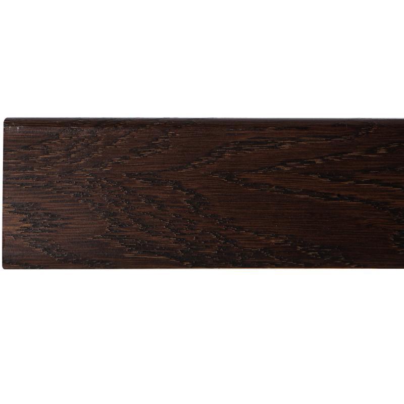 Плинтус напольный шпон 58 мм 2.2 м цвет дуб Espresso