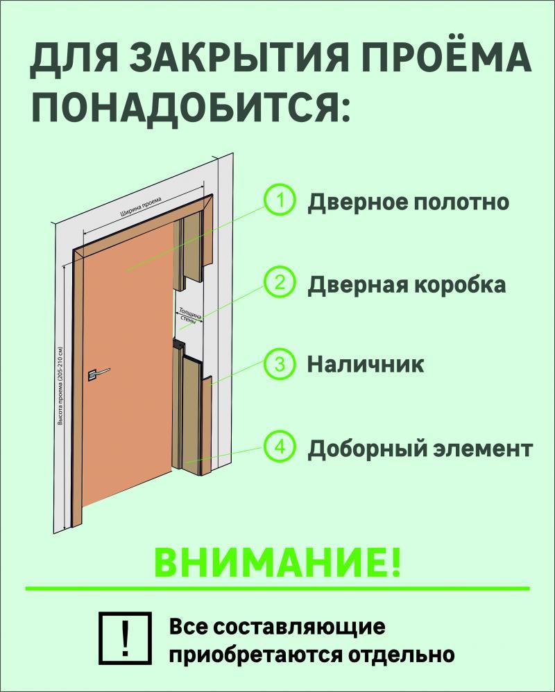 Дверь межкомнатная Helly глухая шпон натуральный цвет дуб тонированный 90x200 см
