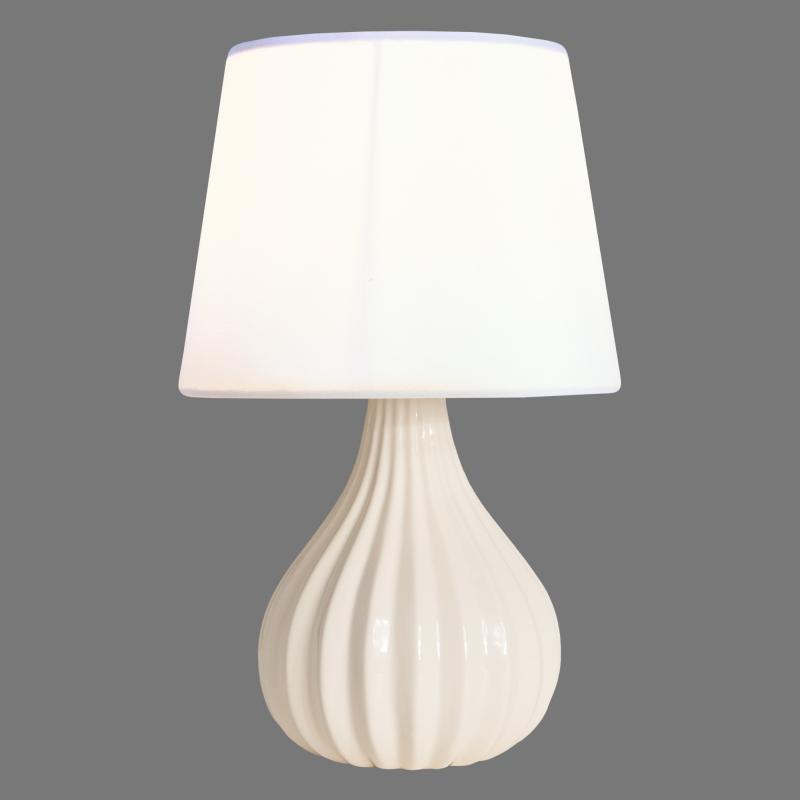 Настольная лампа L1128P Zefirka 1хЕ14х40 Вт