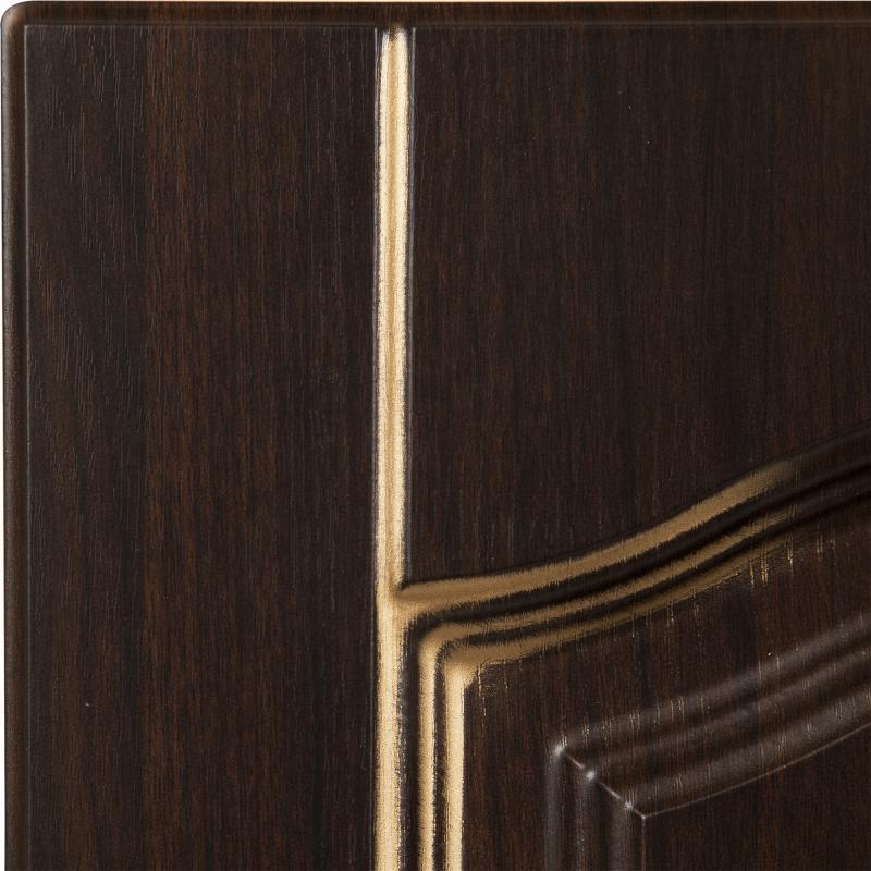 Дверь для кухонного шкафа «Византия», 40х70 см, цвет тёмно-коричневый