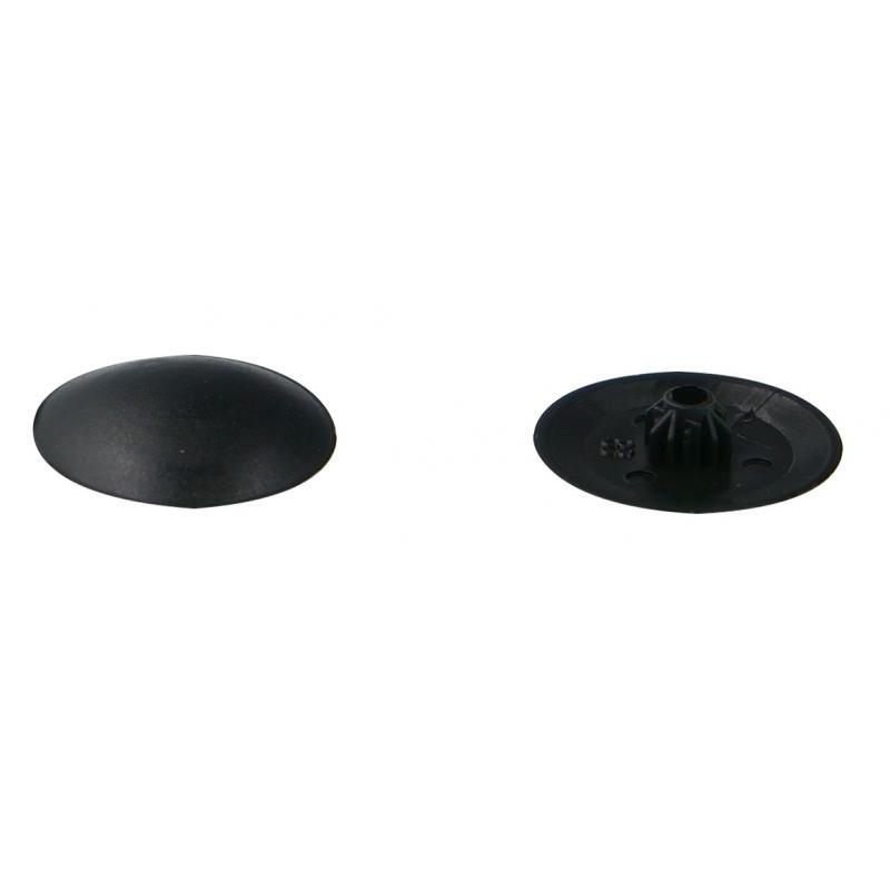Заглушка на шуруп-стяжку Hex 5 мм полиэтилен цвет чёрный, 40 шт.