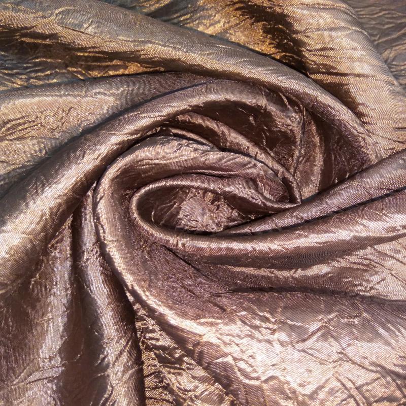 Ткань 1 п/м, тергалет, 280 см, цвет коричневый