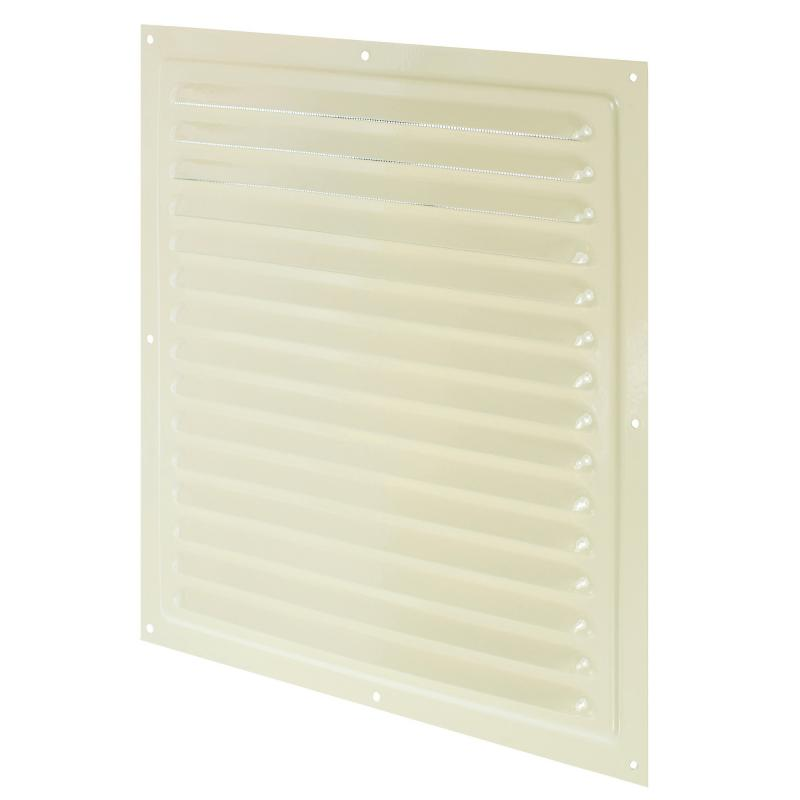 Решетка вентиляционная с сеткой Вентс МВМ 300 с, 300х300 мм, цвет бежевый