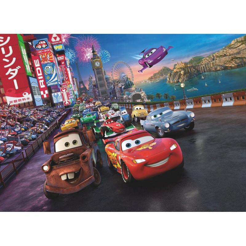 Фотопанно бумажное «Cars Race», 184х254 см