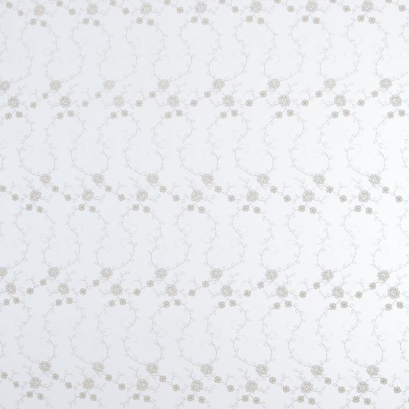Тюль с вышивкой на сетке «Премиум» 1 п/м 290 см цвет кремовый