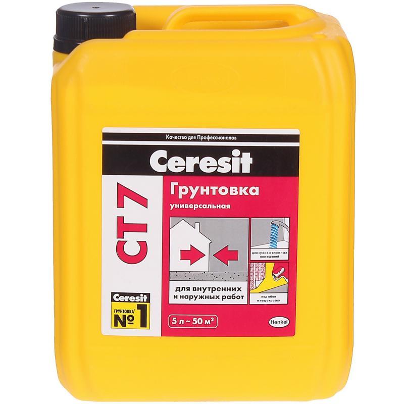 Грунтовка универсальная Ceresit CT7 5 л