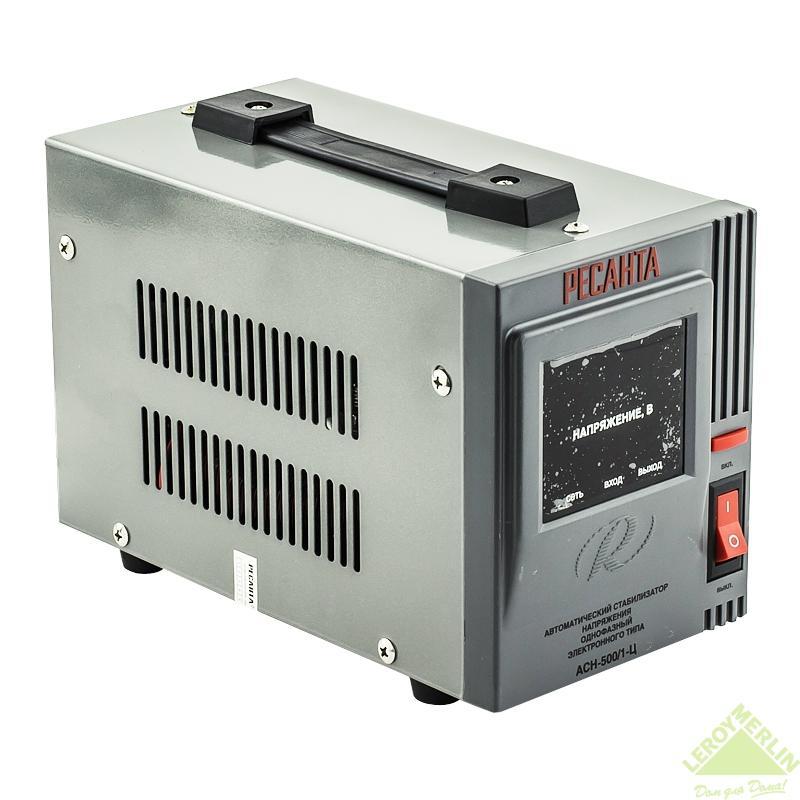 Стабилизатор напряжения Ресанта 0,5 кВт