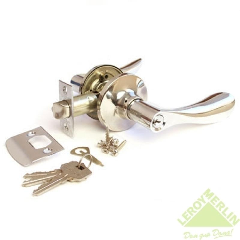 Ручка-защёлка межкомнатная Apecs 0891-01-CR (хром)