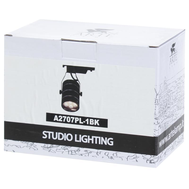 Трековый светильник светодиодный «Cinto» 7 Вт, 2 м², цвет черный