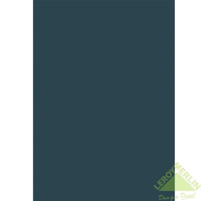 Плитка настенная Берег, цвет темно-синий глянцевый, 28х40 см, 1,232 м2