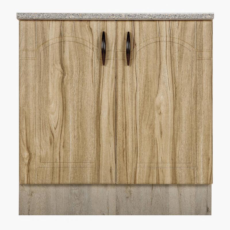 Шкаф напольный «Камила Ал» с фасадом 85х80 см, цвет светлый каштан