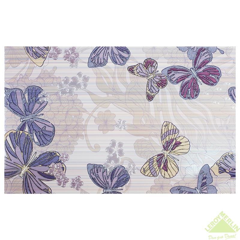 Декор Фридом, цвет сиреневый, 40х25 см