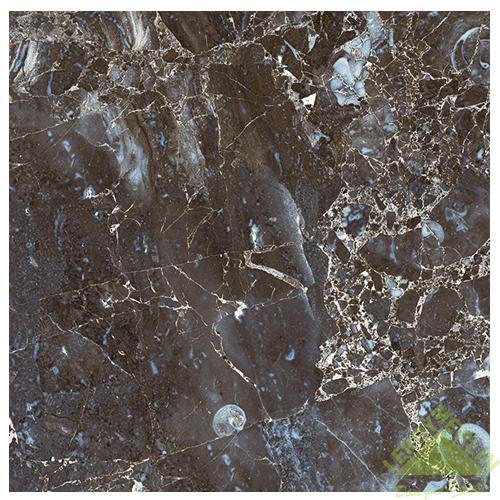 Плитка напольная Лацио, цвет темный мрамор, 32,7х32,7 см, 1,39 м2