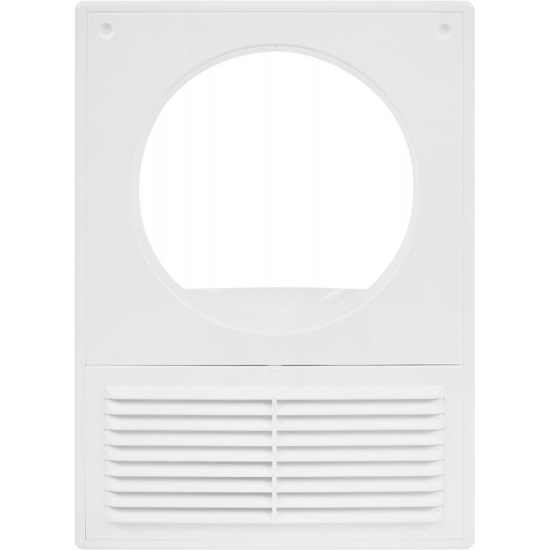 Решетка вентиляционная Вентс МВ 125 Кс, 182x251 мм, цвет белый