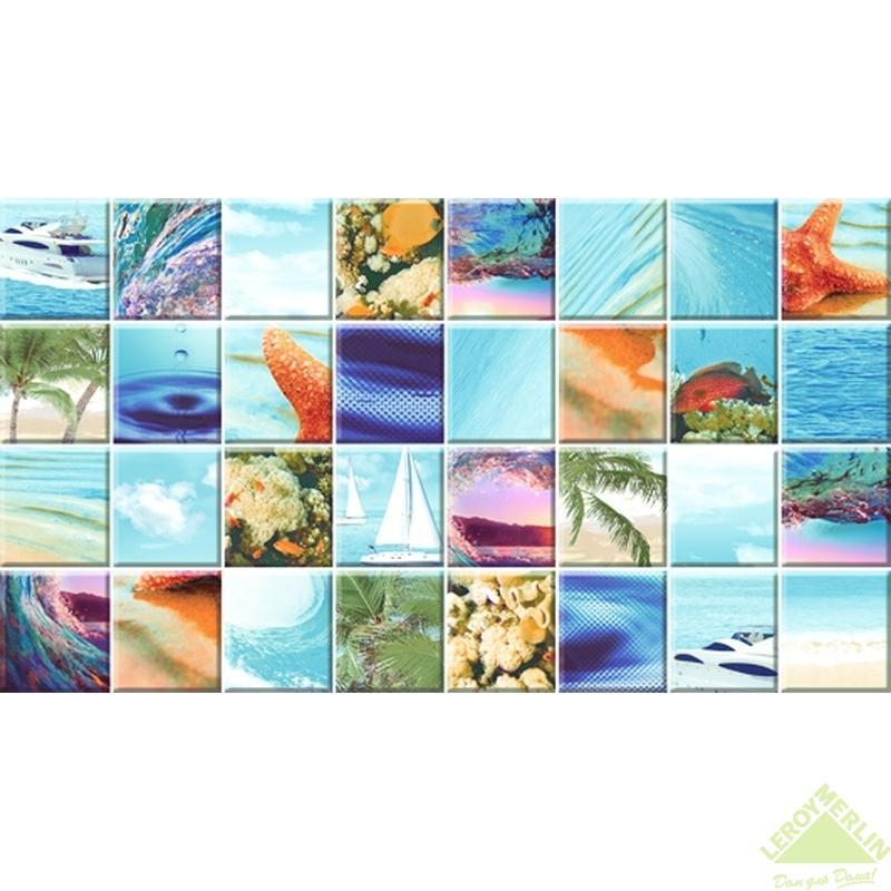 Декор Mozaic Sea, 25х45 см