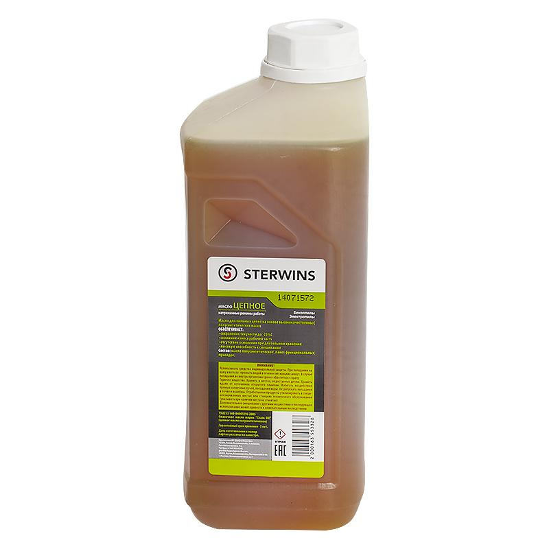 Масло цепное Sterwins для напряжённых работ, 1 л