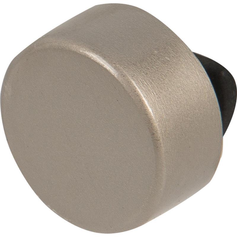 Зеркалодержатель мебельный № 3 17 мм, металл/пластик, цвет матовый хром, 4 шт.