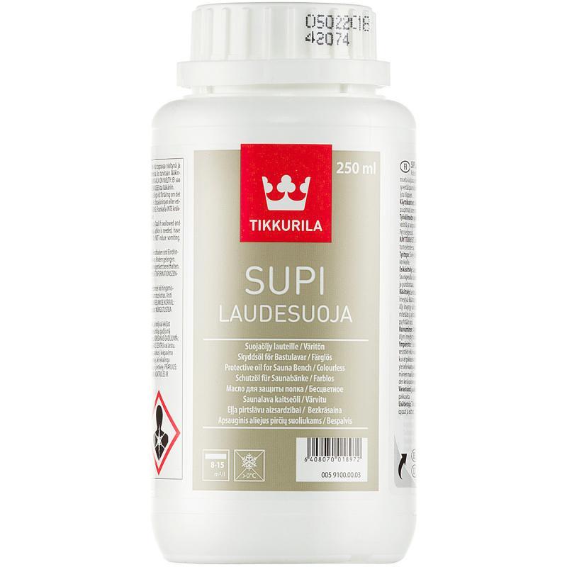 Масло для полков алкидное Tikkurila Supi Laudesuoja 0.25 л