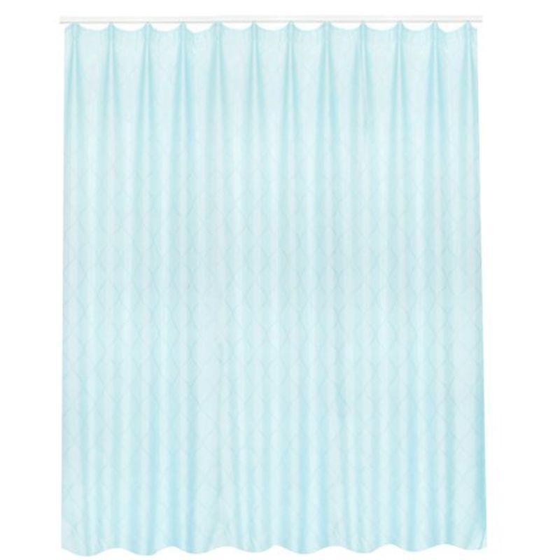 Тюль на ленте «Пичено» 300х260 см цвет синий