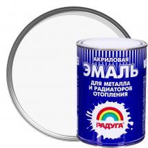Акрил негізіндегі су-дисперсиялық эмаль: Р-178 радиаторларға арналған акрилді эмаль, түсі ақ, 1 кг