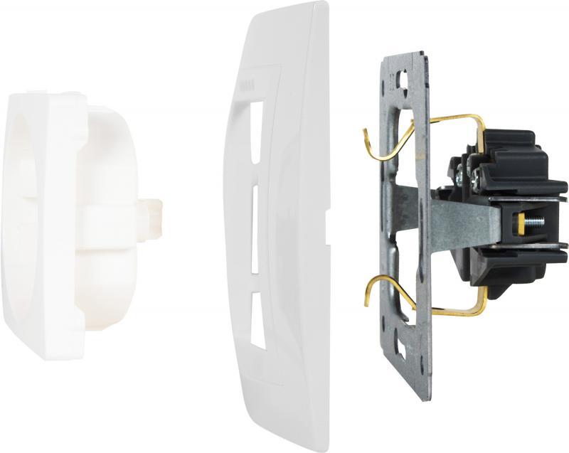 Рамка для розеток и выключателей Schneider Electric Unica 2 поста, цвет белый