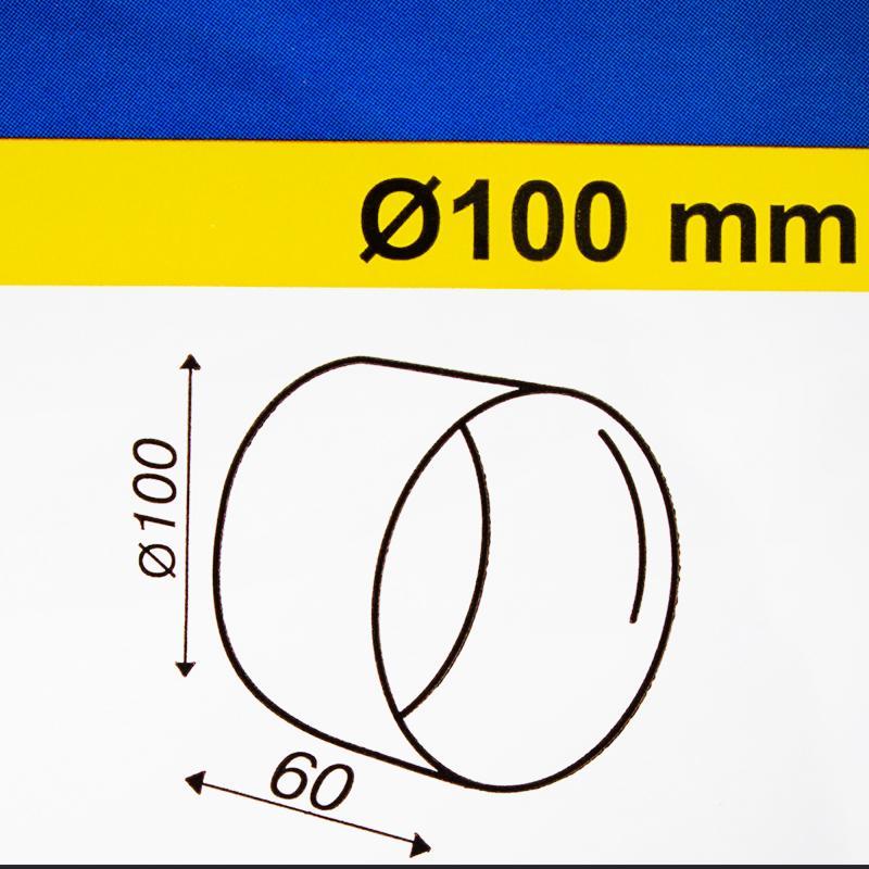 Труба D100 мм L60 мм