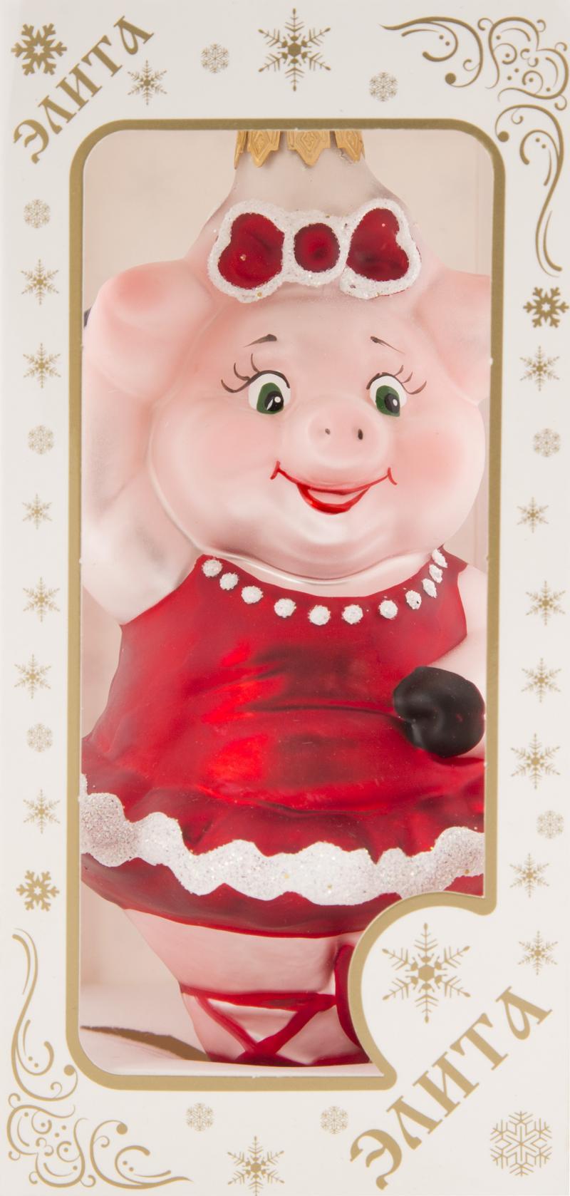 Фигурка декоративная «Свинка», 14 см
