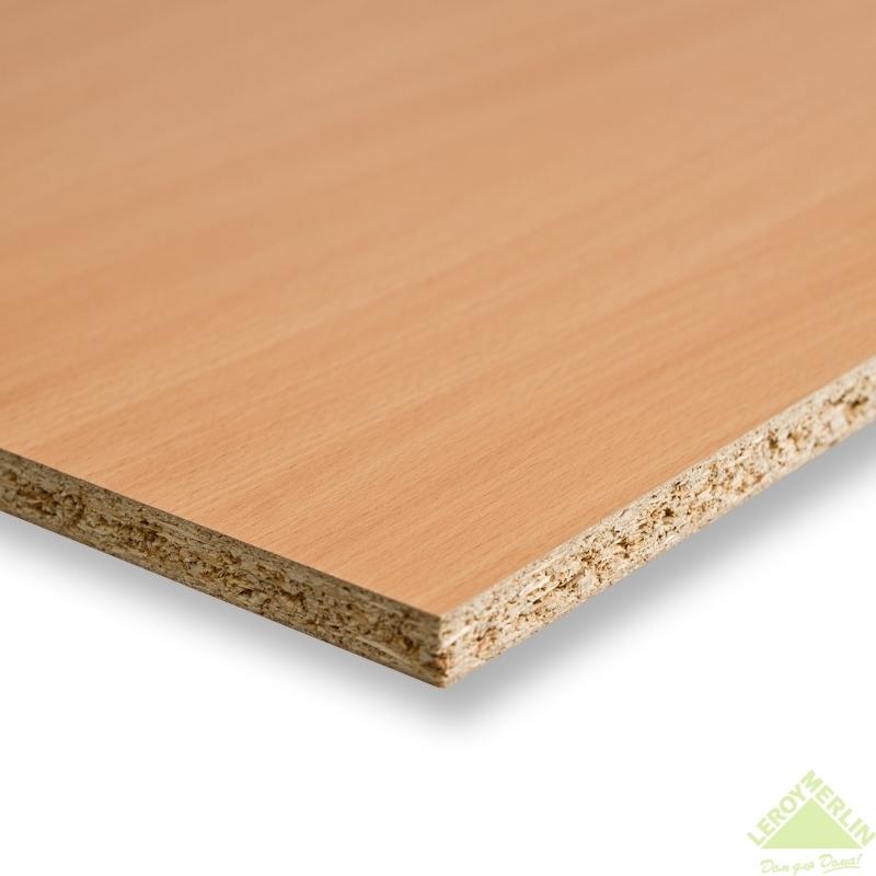 Панель мебельная без кромки 2720х1200х16 мм цвет бук