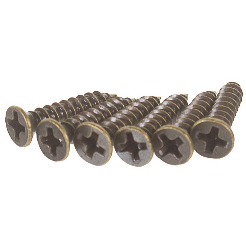 Задвижка механическая Amig Модель 600-100, 100х17 мм, сталь, цвет бронза
