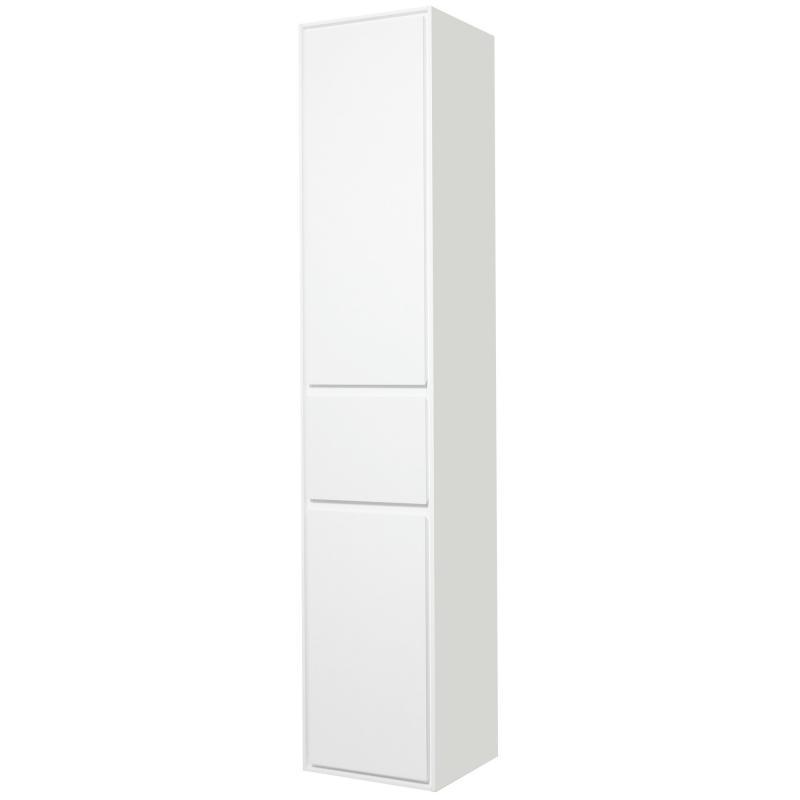 Пенал «Мокка» 35 см, цвет белый глянец