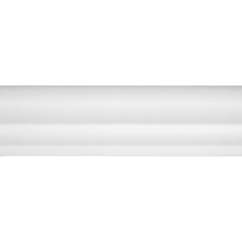 Молдинг настенный WL2 ударопрочный 200х4 см цвет белый