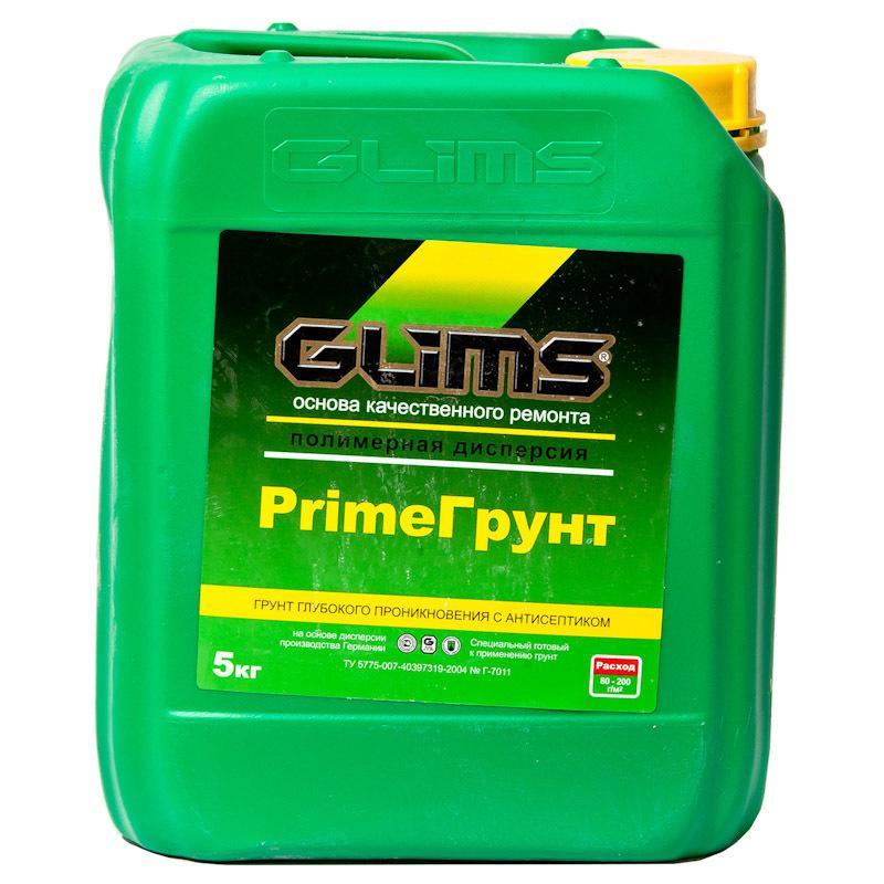 Грунтовка GLIMS-PrimeГpунт, 5 кг