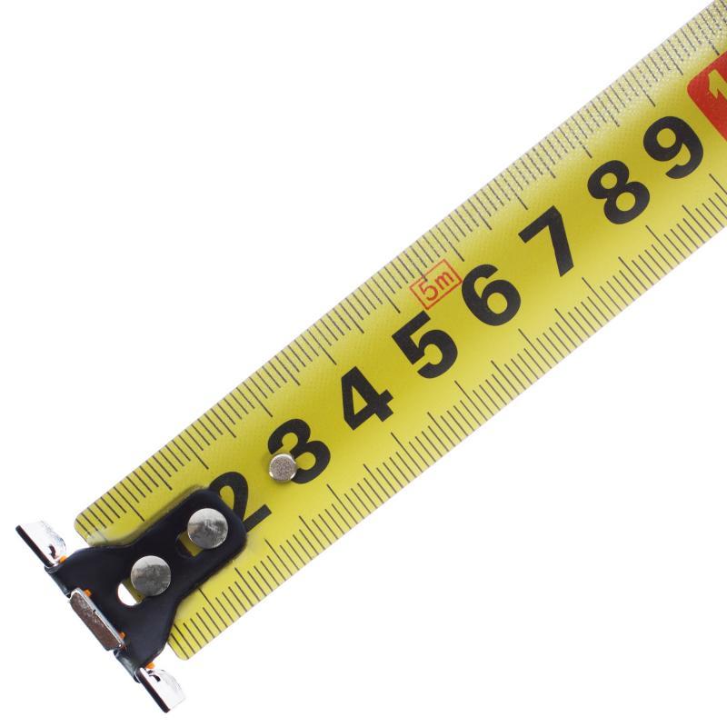 Рулетка Dexell 5 м х 25 мм с магнитом и нейлоновым покрытием