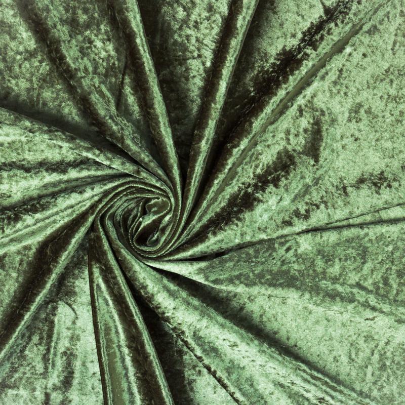Ткань 1 п/м «Людовик», 300 см, цвет зелёный
