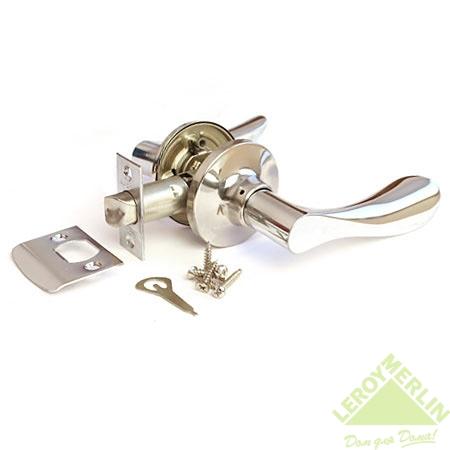 Ручка-защёлка межкомнатная Apecs 0891-05-CR (хром)