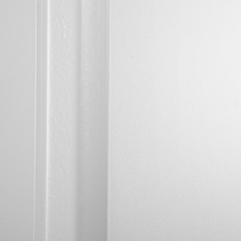 Дверь для шкафа Delinia «Леда белая» 45x70 см, МДФ, цвет белый