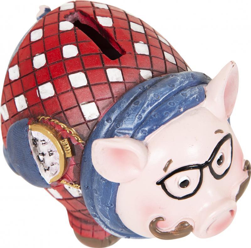 Копилка декоративная «Свин в очках», 8.5 см