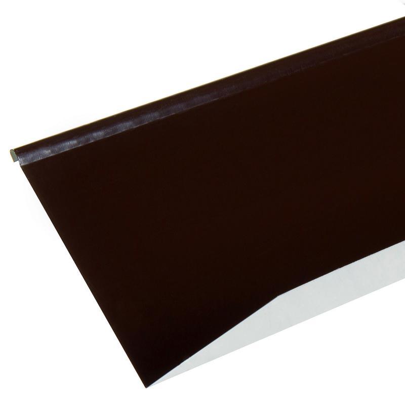 Планка примыкания верхняя 2 м RAL 8017 коричневый