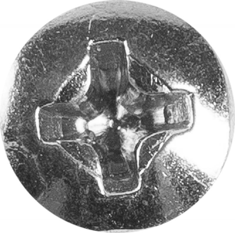 Винт с полукруглой головкой DIN 7985 M4х20 мм, на вес