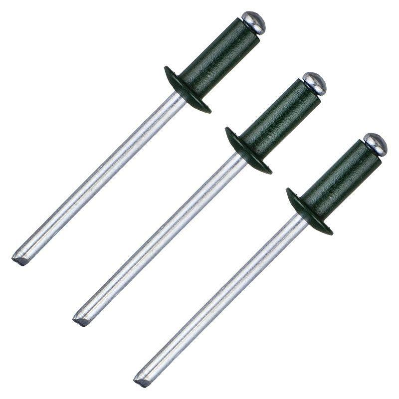 Заклёпка Matrix RAL6005 4х10 мм цвет тёмно-зелёный 50 шт.