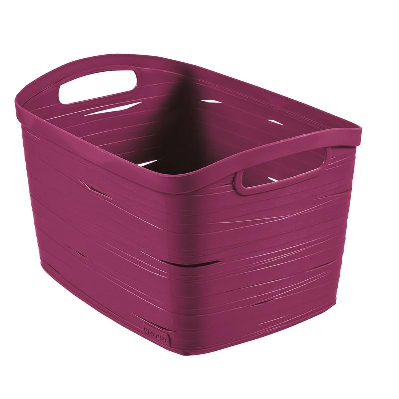 Корзина Curver Ribbon фиолетовая L