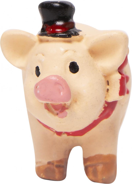 Фигурка декоративная «Свинка на удачу», 4.5 см