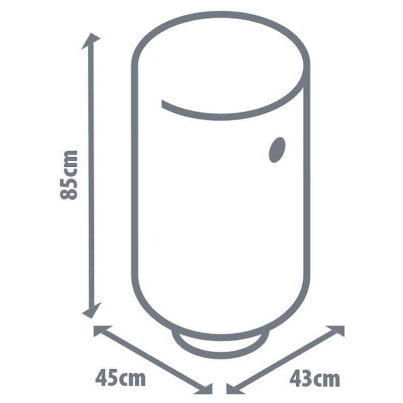 Электроводонагреватель накопительный Equation-80 вертикальный, 80 л, эмаль