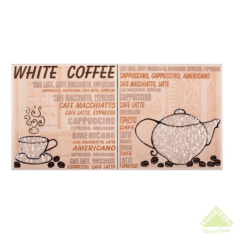 Декор Espresso 3 motyw, 9,8x20 см