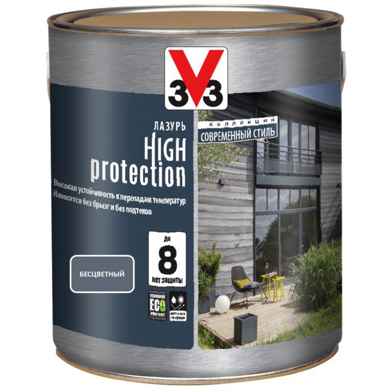 Лазурь V33 High Protection 0.75 л