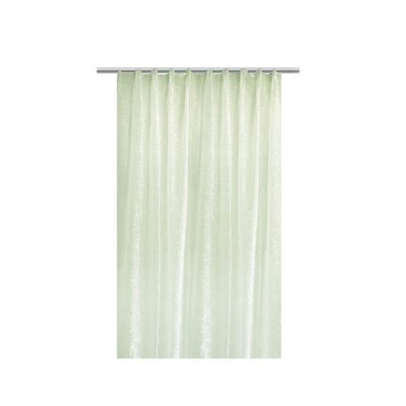 Тюль на ленте «Осида» 300х260 см цвет зелёный